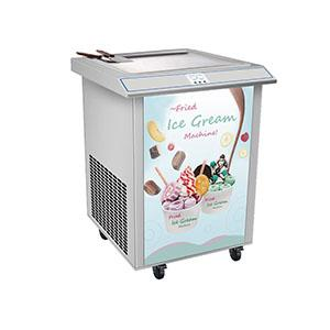 Ice cream rolling machine