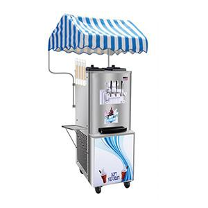 commercial soft ice cream machine with 40L capacity
