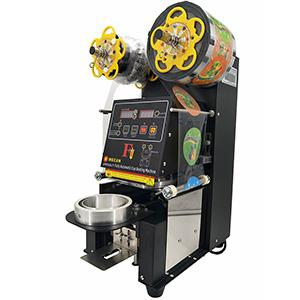 90mm  PP injection cup sealing machine